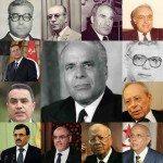 Les 14 premiers ministres de la Tunisie