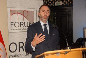 Patrice Bergamini, Ambassadeur de l'UE en Tunisie.