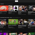Youtube en mode foncé pour le repos des yeux pendant la nuit !