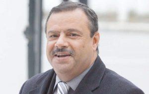 Samir Taïeb, ministre de l'Agriculture, de la Pêche et des ressources Hydrauliques.