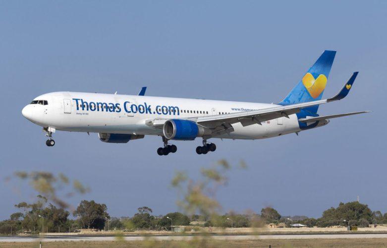 440 britanniques arrivent aujoud'hui à Enfidha — Thomas Cook
