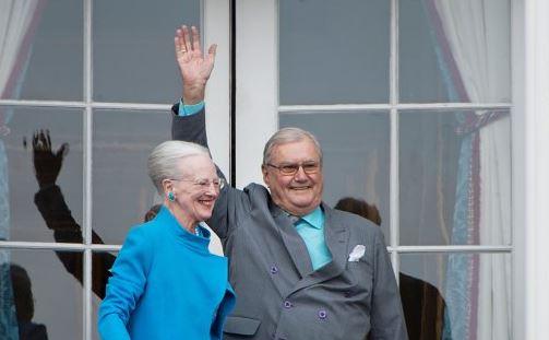 Décès du mari de la reine Margrethe du Danemark