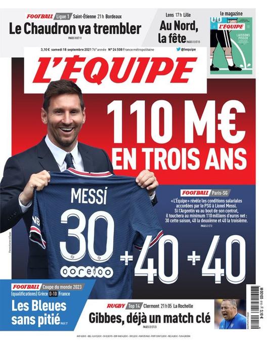 PSG : Salaire astronomique pour Messi, coup dur pour Mbappé
